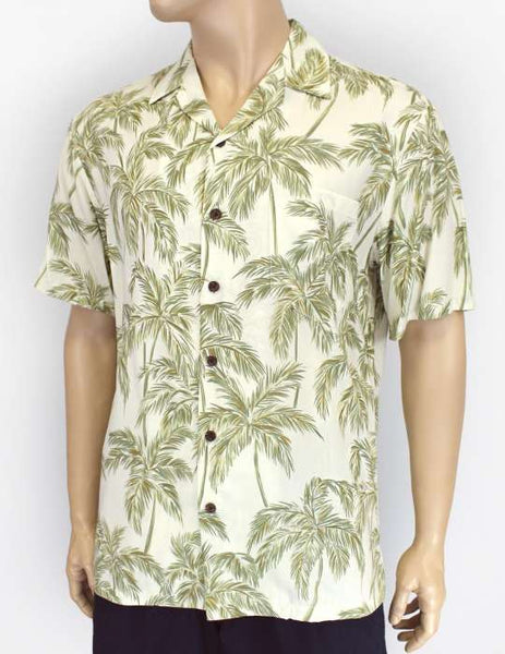 Rayon Hawaiian Shirt - Palms Resort