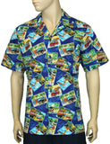 Aloha Shirt - Paradise Vacation Postcard