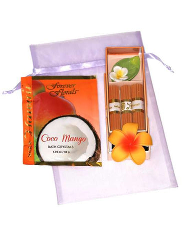 Coco Mango Fragrance Treat Gift Bag