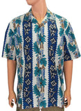 Aloha Men's Cotton Pa'pa Heena'lu Hawaiian Shirt