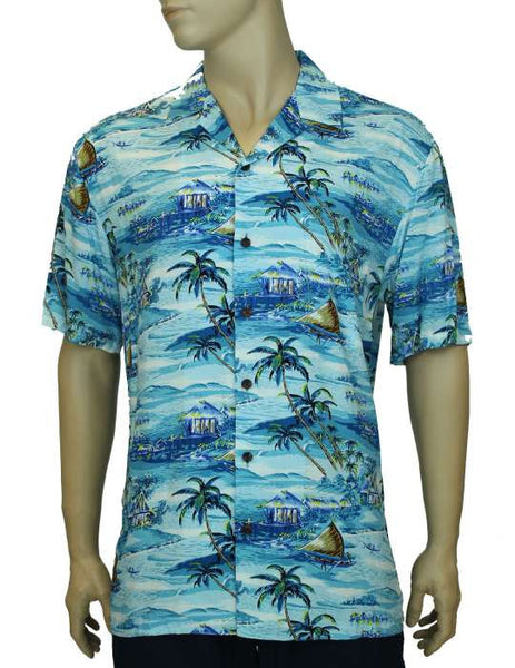 Rayon Aloha Hawaiian Shirts - Pacific Life