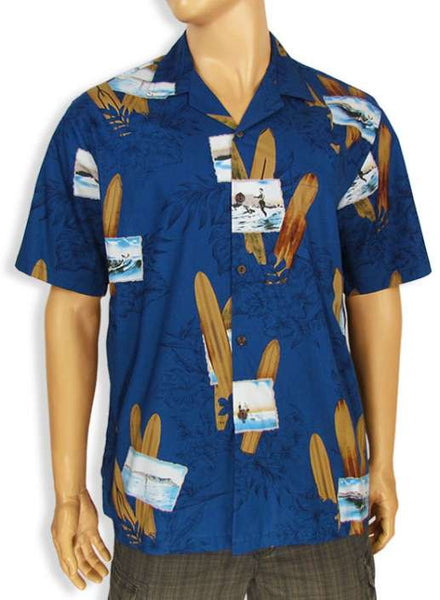 Tropical Men's Shirt - Longboard Surf