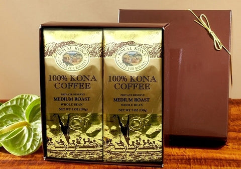Royal Kona 100% Kona Gift Box
