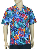 Brazilian Forest Tropical Parrots - Aloha Shirt
