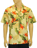 Tropical Aloha Shirt - Birds of Paradise