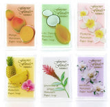 Hawaiian Scented Paper Soap - 6PK