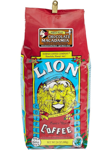 LION Hawaiian Coffee - Chocolate Macadamia - 24oz