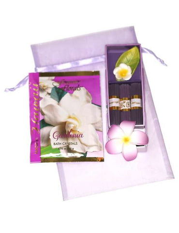 Gardenia Fragrance Treat Gift Bag