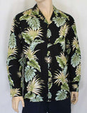 Men's Long Sleeves Hawaii Shirt Lei of Aloha