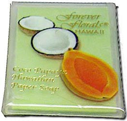 Coco Papaya Scented Paper Soap
