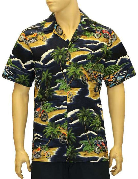 Cotton Aloha Island Choppers Shirt