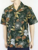 Leaf Flora Design - Island Shirt