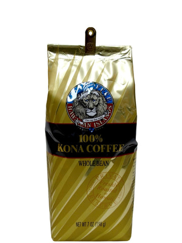 100% Hawaiian Kona Coffeee
