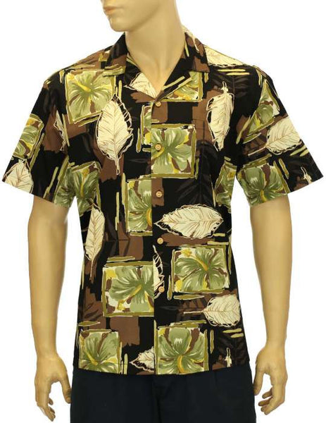 Pua Blocks - Cotton Hawaii Shirt