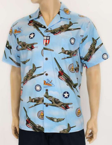 Airplanes Hawaii Shirt - Dogfight