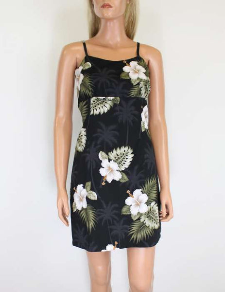 Short Spaghetti Beach Dress - Ka Pua
