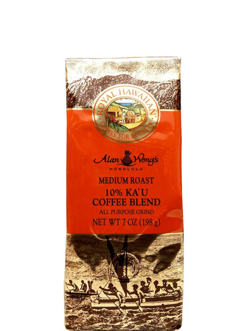 Ka'u Hawaiian Coffee - Royal Hawaiian - Medium Roast - 7oz