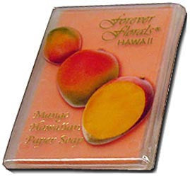 Mango Scented Paper Soap
