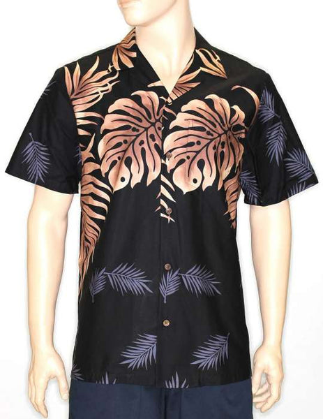 Big Palm Leaf Hawaiian Shirt - Kuhio Design