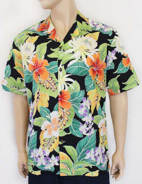 Aloha Shirt - Tropical Forest Mirage