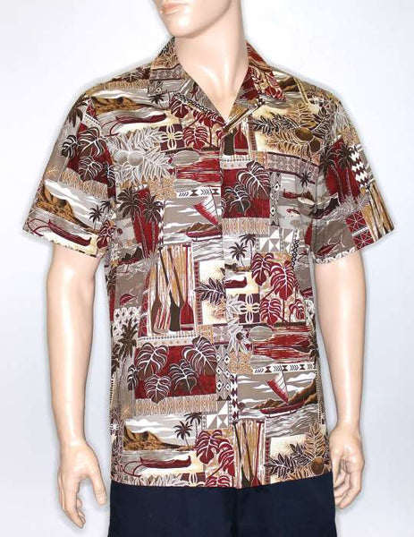 Ocean Paddler Island Men Shirt