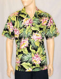 Hawaiian Shirt - Night Blooming Cereus Design
