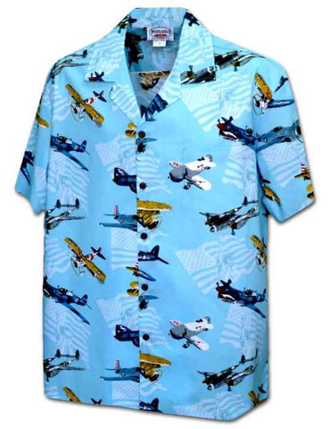 Men's 100% Cotton Hawaiian Shirts