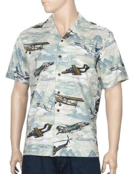 Bird Dog Airplanes Aloha Shirt