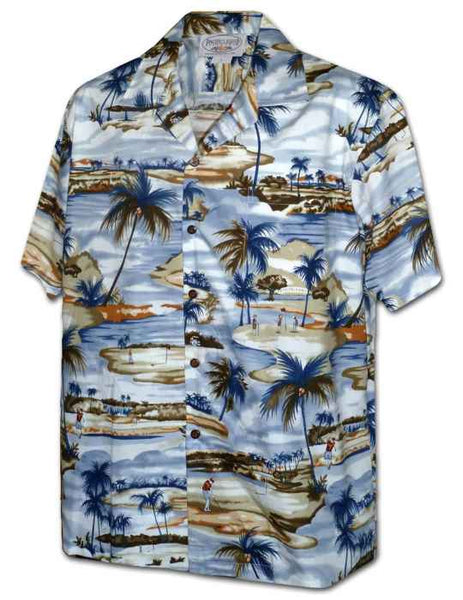 My Golfing Vacation Aloha Shirt