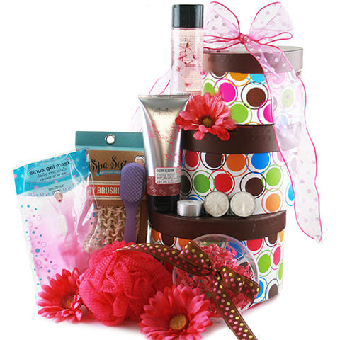 Spa-Rific!  Spa Gift Tower