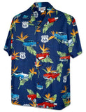Aloha Shirt - Route 66 Way