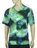 Rayon Aloha Shirt - Tropical Kalo