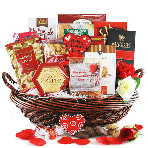 Straight from the Heart Valentine Gift Basket
