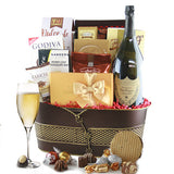 Bubbly Bliss Wine Gift Basket