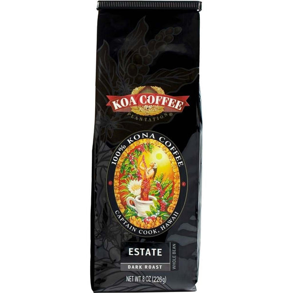 Koa Coffee - Estate Dark Roast Whole Bean Kona Coffee