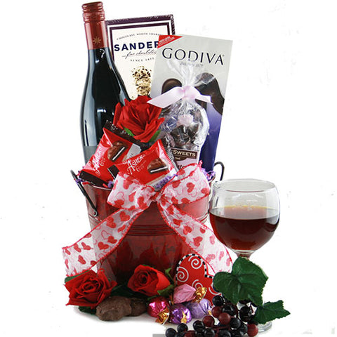 Endless Love Wine Gift Basket
