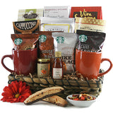 Breakfast in Bed Gourmet Gift Basket