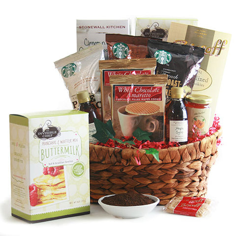 Breakfast for Two Gourmet Gift Basket