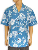 Blue Tropical Resort - Hawaiian Shirts