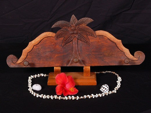 "Palm Tree Hanger - 20"" Antique Finish - Island Decor"