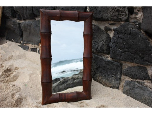 "Bamboo Rectangular Mirror 16""x28"" - Coastal Living"