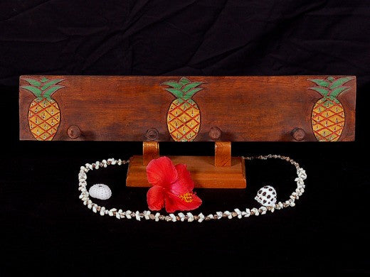 "3-Pineapple Hanger - 20"" Antique Finish - Pineapple Decor"