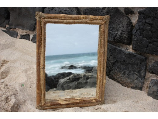 "Coffee Tree Rectangular Mirror 16""x20"" - Coastal Living"