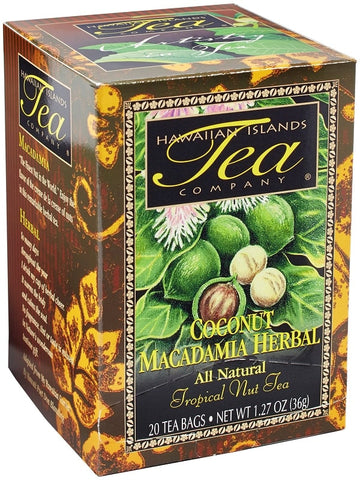 Hawaiian Tea - Coconut Macadamia - Rooibos Tea
