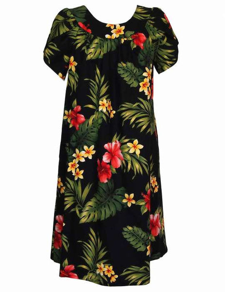 Puunene Pull Over Muumuu Dress