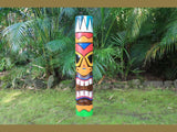 Tribal Tiki Totem Pole 40""