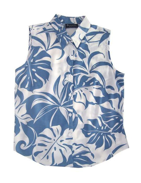 Sleeveless Tank Blouse Tropics - Makena