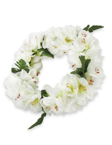 White Shell Ginger Flower Headband