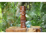 "Makaha Tiki Totem 8"" Stained - Hawaiian Tiki Bar Decor"