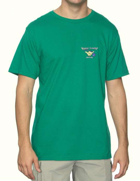 Beach T-Shirts for Men - Island Hang Loose